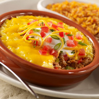 Tex-Mex Ground Beef Pie with Cornmeal Topping