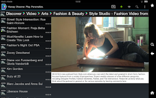 Screenshot of Viaway: TV Films Video Radio