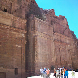 Petra Excavations by Luci Henriques - Landscapes Caves & Formations (  )