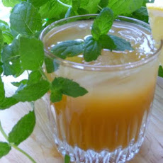 Iced Peach Mint Tea