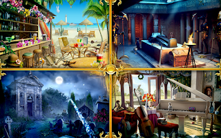 Screenshot of Time Gap Hidden Object Mystery
