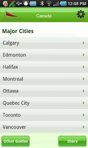 TS GreenGuide: Canada