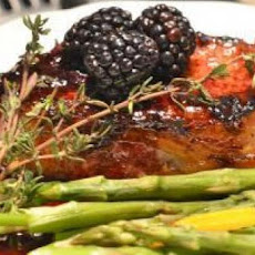 Slow Cooker Blackberry Pork Tenderloin