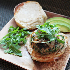 Herb-Filled Turkey Burgers with Cheddar Cheese