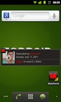Screenshot of Maleforce Gay Video Widget