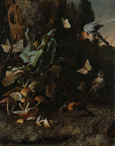 RIJKS: Melchior d' Hondecoeter: painting 1668
