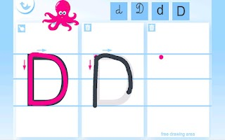 Screenshot of Write the Alphabet for Kids