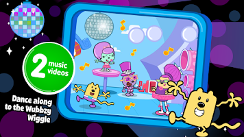 Screenshot of Wubbzy's Dance Party
