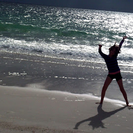 by Rachel Rachel - Sports & Fitness Fitness ( seashore, starjump, enjoy,  )