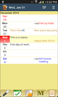Screenshot of Memo Journal
