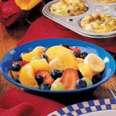 Blueberry Fruit Salad