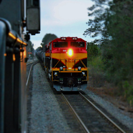 That's a good roll by... by Alan Dougherty - Transportation Trains ( industrial, locomotive, railroad, train, nikon )