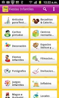 Screenshot of Guia de Fiestas Infantiles