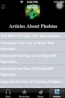 Screenshot of Cure Phobias And Overcome Fear