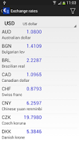 Screenshot of Currency Calculator