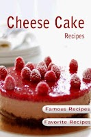 Screenshot of Cheesecake Recipes Cookbook