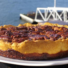 Spiced Autumn Walnut  and Golden Syrup Tart-Pie