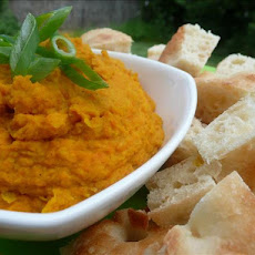 Curried Carrot Bean Dip