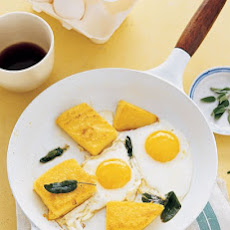 Fried Polenta, Eggs, and Sage