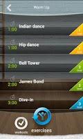 Screenshot of idoo - fitness workouts