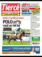 Screenshot of Tiercé-Magazine