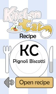 KC Pignoli Biscotti - screenshot