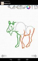 Screenshot of Learn to Draw Wild Animals