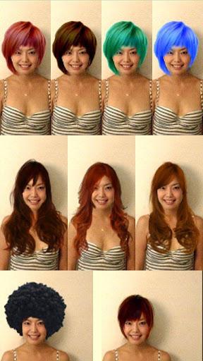 Try Hairstyle - screenshot