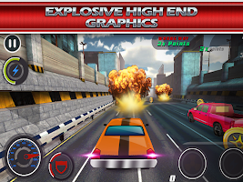 Screenshot of Fast Racing Car 2: Free Rivals