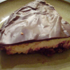 Easy Chocolate Raspberry Cheesecake
