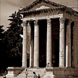 by Josip Kopčić - Buildings & Architecture Public & Historical ( b&w, arhitektura )