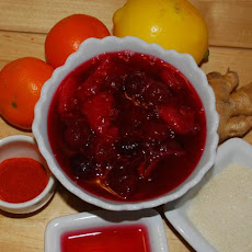 Ginger Cranberry Sauce
