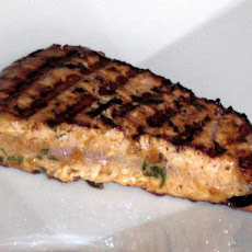Marinated Grilled Tuna Steak