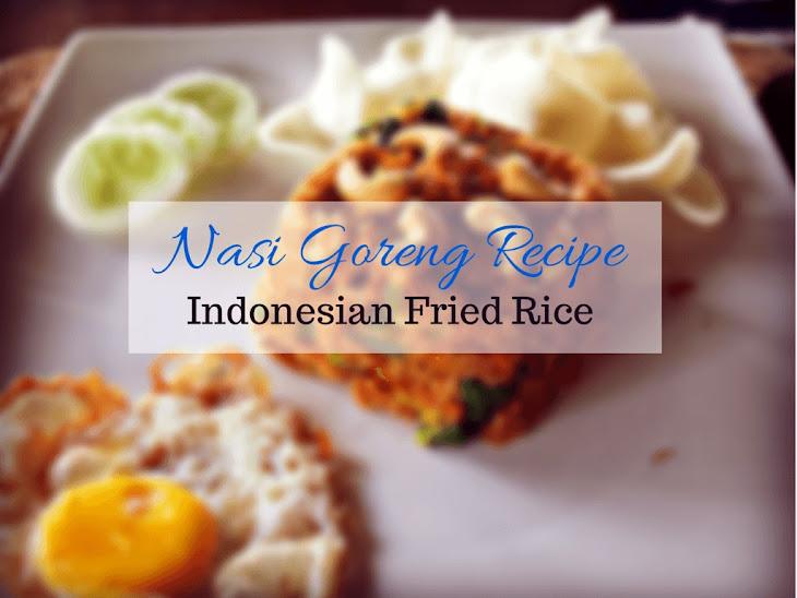indonesian fried rice nasi goreng recipe indonesian fried rice recipes ...