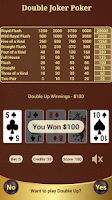 Screenshot of Double Joker Poker