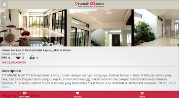 Screenshot of Rumah 123