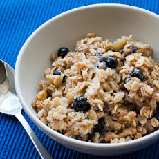 Blueberry Walnut Baked Oatmeal