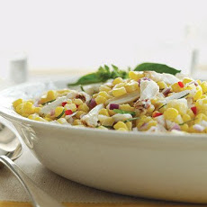 Chilled Corn and Crab Salad