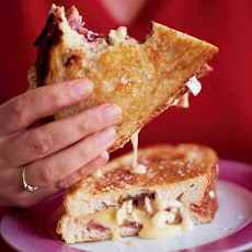Pan-fried Camembert Sandwich