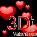 3D Valentines Wallpaper Lite icon
