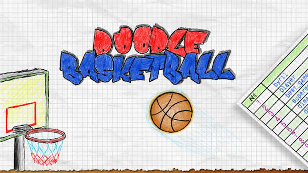 Doodle Basketball APK screenshot thumbnail 1
