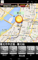 Screenshot of Taiwan Weather