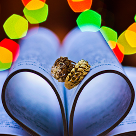 ring by Pravin Dabhade - Wedding Details ( canon, lights, ring, details, wedding, love, postcard, valentine's day )