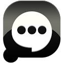 Easy SMS solid Black theme icon