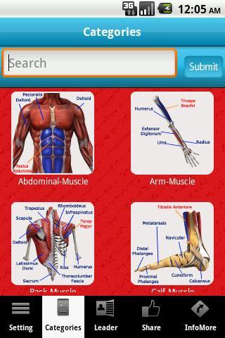 A-Z Muscle Bone Anatomy LITE