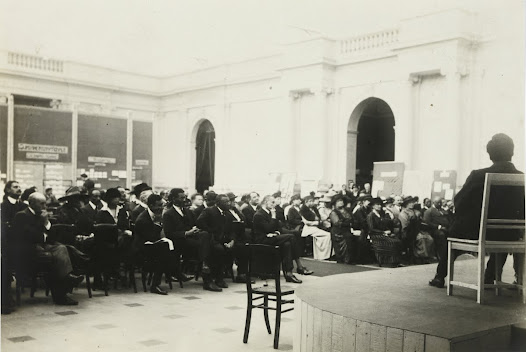 Pan African Congress. 1921 (Cinquantenaire. Brussels)