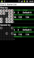 Screenshot of Number Puzzle