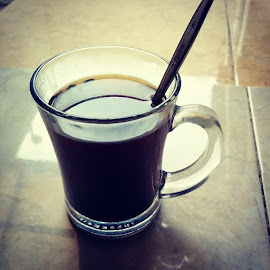 Black Pure Coffee by Gebyar Andyono - Food & Drink Alcohol & Drinks ( cup, drink, coffee, glass, pixoto, coffee cup )