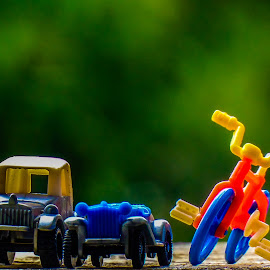 Toys by Pramod Kumar - Artistic Objects Toys ( car, cycles, bicycles, cycle, jeep, cars, artistic, artistic object, artistic objects, objects, photography, bicycle,  )