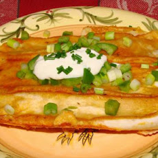 Cottage Cheese Enchiladas (Vegetarian)